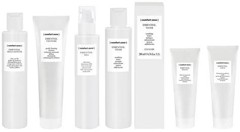 comfort essentials comfort zone essential effektive og milde renseprodukter
