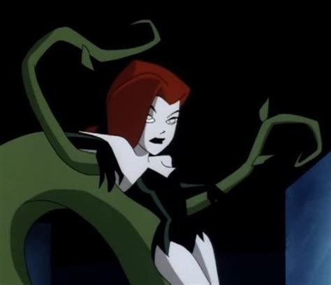 poison ivy batman animated series poison ivy the new batman adventures better red than