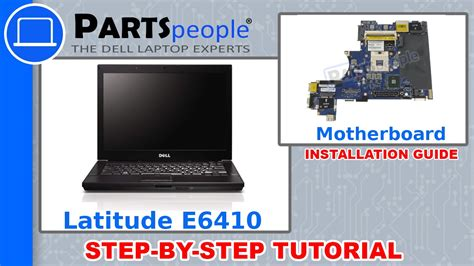 Dell Latitude E6410 Motherboard How To Video Tutorial