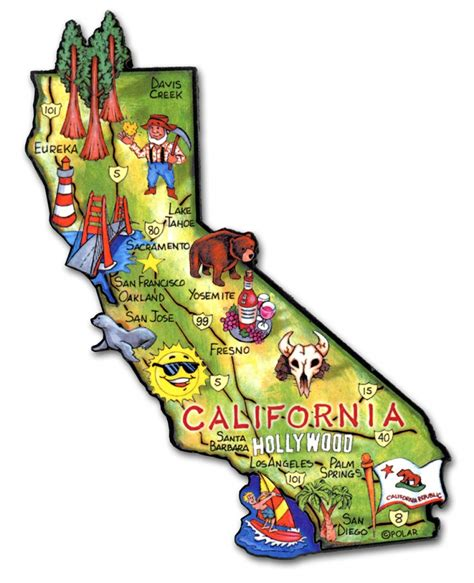 california state california state magnet artwood classicmagnets