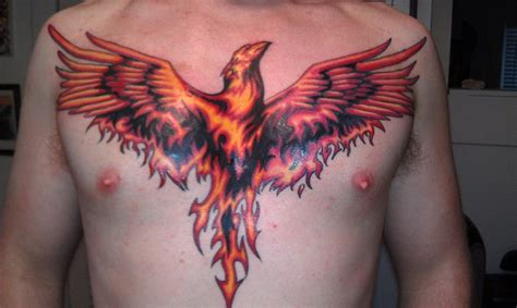 phoenix chest tattoo 90 best always a fighter never a victim images on