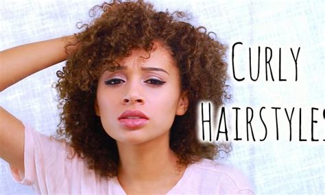 easy curly hairstyles thats manageable 5 easy curly hairstyles for school the cutest looking