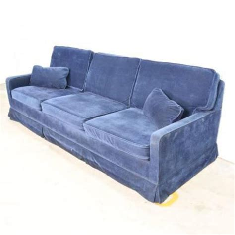 electric blue sofa retro electric blue sofa sleeper loveseat vintage