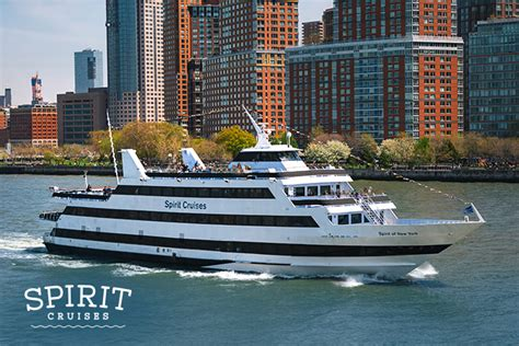 spirit boat cruise nyc spirit of new york new jersey dining cruises spirit