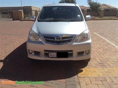 Used Toyota Avanza For Sale In South Africa 2008 Toyota Avanza 1 5 Tx Used Car For Sale In Kempton