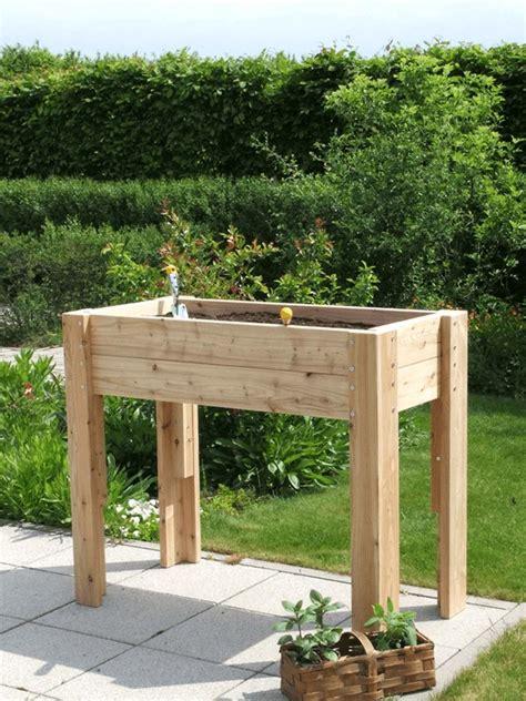 terrasse hochbeet tisch hochbeet forafrica