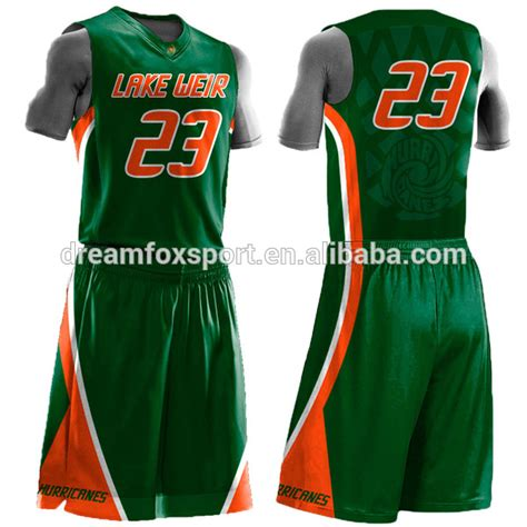 design jersey app sublimated custom basketball jersey uniform design green