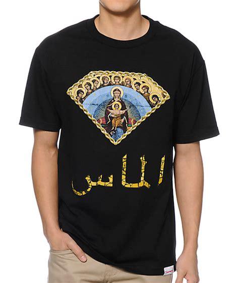 Tshirt Yo Yo Thumd Point Store supply co arabic black t shirt