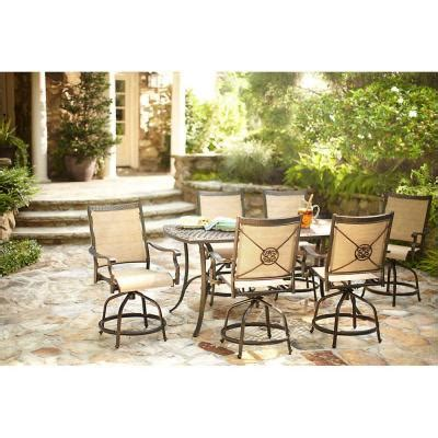 martha stewart patio furniture sets martha stewart living solana bay 7 patio high dining