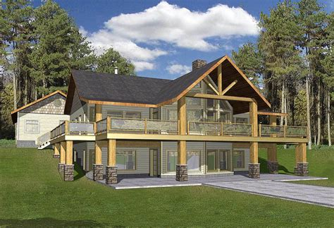 mountain home with wrap around deck 35427gh