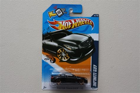 Hotwheels Infiniti G37 Faster Than 12 wheels 2012 faster than infiniti g37 black