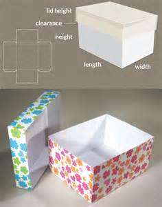 Maker Templates by Box With Lid Template Www Templatemaker Nl