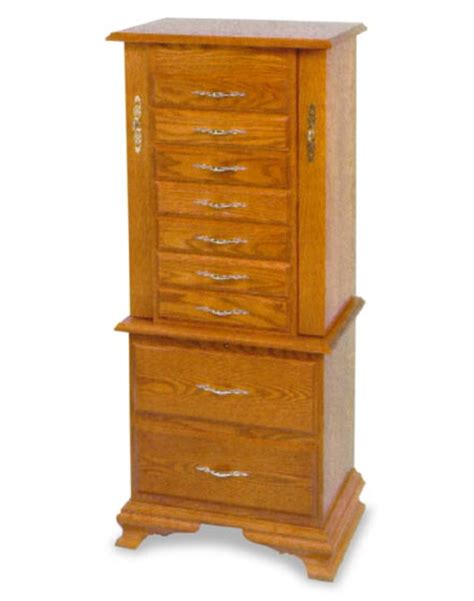 amish oak jewelry armoire amish clock base jewelry armoire amish bedroom furniture