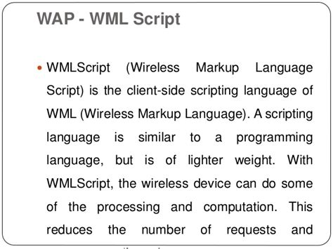 wap wml tutorial pdf wap wml