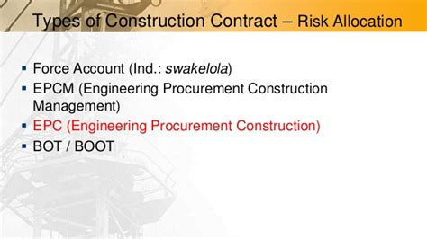 jct design and build contract clause 6 5 1 emli training an introduction to epc contract clause by