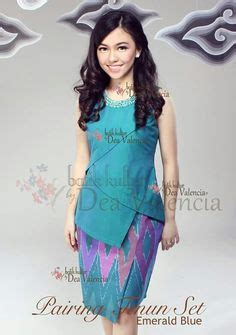 Kebaya Bali Lengan Panjang Murah Set baju batik modern murah model dress batik modern terbaru