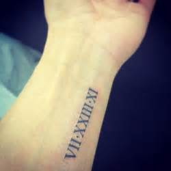 roman numeral tattoo 1000 ideas about roman numbers tattoo on pinterest roman numeral tattoos tattoos and roman