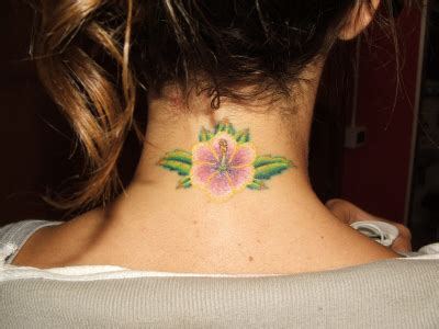 tattoo on hairline of neck 36 awesome neck tattoos to consider