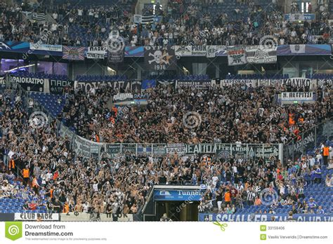 schalke pazari gelsenkirchen schalke vs paok chions league editorial photo image