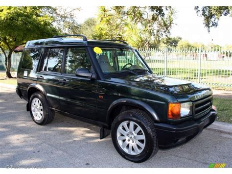 2000 land rover green epsom green 2000 land rover discovery ii standard