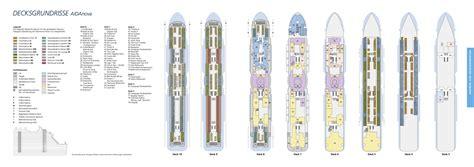 kabinenbewertung aida prima aida deckplan alle deckpl 228 ne grundrisse der aida flotte