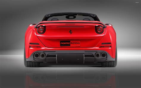 ferrari back 2015 novitec rosso ferrari california convertible back