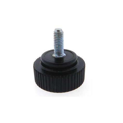 phenolic knurled knob stud style phenolic plastic