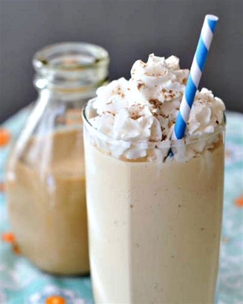 Handmade Milkshake - salted caramel milkshake with vegan creme spabettie