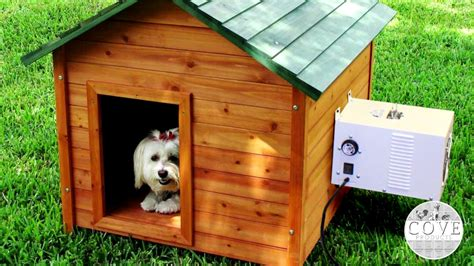 air conditioned dog house dog house air conditioner youtube