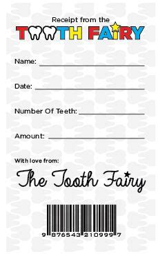 tooth receipt template best 25 tooth receipt ideas on