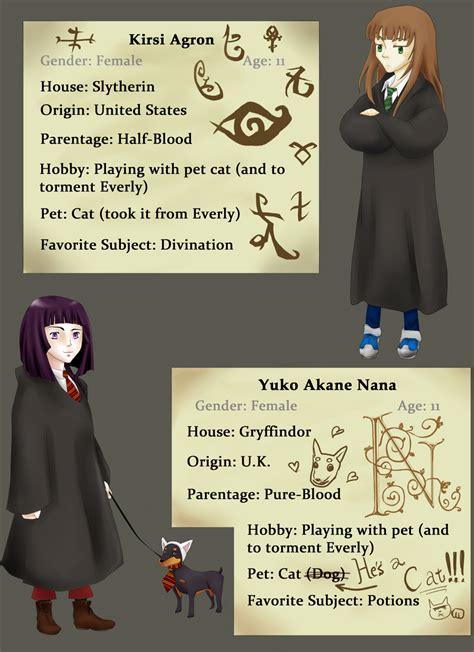 harry potter oc template harry potter oc characters ii by narcodai on deviantart