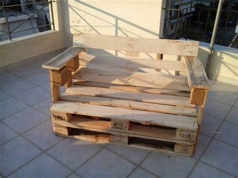 pallet bench instructions diy pallet bench chair pallet furniture plans