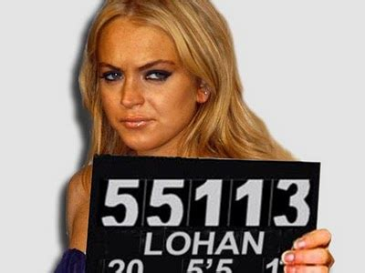 Oh My Word Lindsay Lohan Busted Again by 301 Moved Permanently