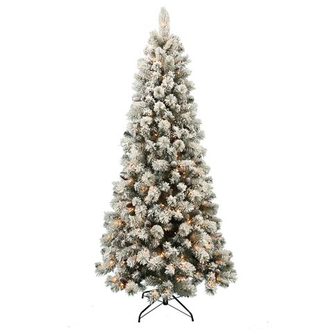 donner blitzen trees donner blitzen incorporated 7 5 pre lit colorado pine tree with 500 clear lights shop your
