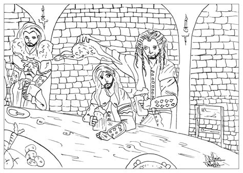 hobbit house coloring page hobbit1 myths legends coloring pages for adults