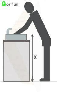 hauteur de lavabo