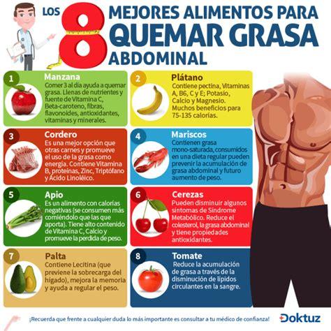 alimentos queman grasa abdominal 191 qu 233 alimentos queman grasa corporal