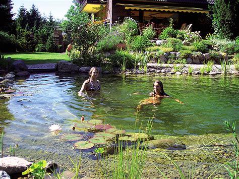 schwimmteich garten schwimmteich typ single manzke landschaftsplanung