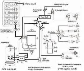 universal ignition switch wiring diagram wiring