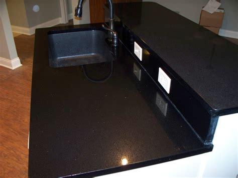 Scratches On Granite Countertop by Scratches Repaired On Black Quartz Countertop