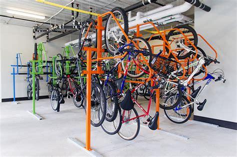 Duro Bike Rack by Bike Rooms No Longer An Afterthought Dero Bike Racks