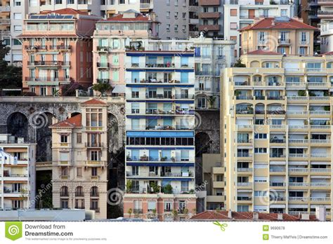 monaco houses monaco houses royalty free stock photos image 9690678