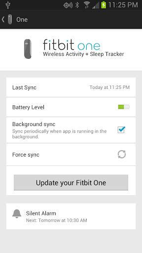 fitbit android will now sync in real time with select