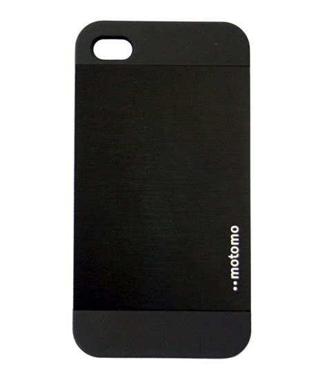 Motomo Metal Hardcase For Iphone 6g motomo ino metal for apple iphone 5 5s black buy