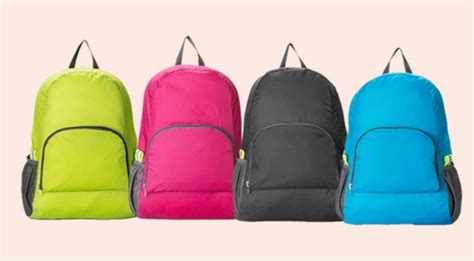 Tas Selempang Kulit Untuk Vape Tempat Rokok Buat Motorist Touring tas ransel lipat foldable travelling backpack