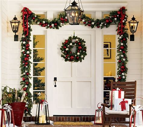 modern door design for christmas ornaments