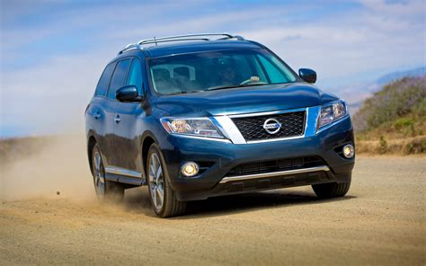 nissan trucks blue revealed 2013 nissan pathfinder production suv in photos