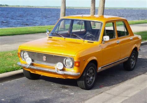 lada vintage anni 70 modified 1970 fiat 128 bring a trailer
