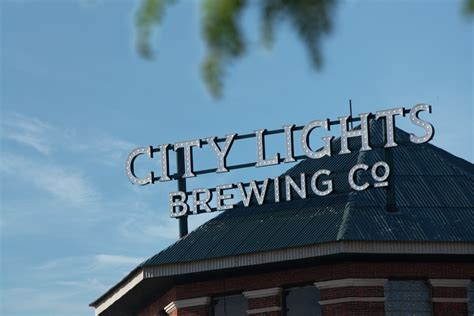 city lights brewing company city lights brewing company poblocki sign company llc