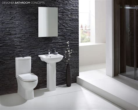 black and white bathroom suites luna designer basin pedestal dbc lunfpbasin